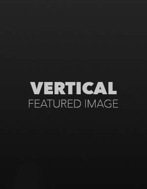Vertical Featured Image with Disabled Comments